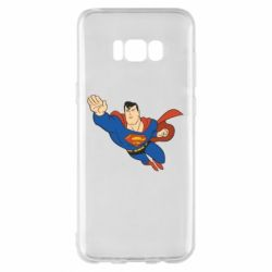 Чехол для Samsung S8+ Superman mult - FatLine