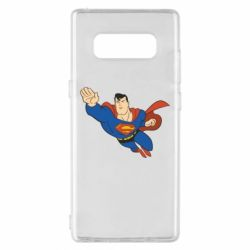 Чехол для Samsung Note 8 Superman mult