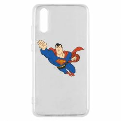 Чехол для Huawei P20 Superman mult - FatLine