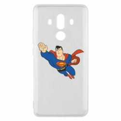 Чехол для Huawei Mate 10 Pro Superman mult - FatLine