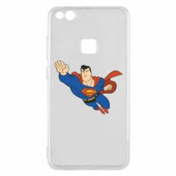 Чехол для Huawei P10 Lite Superman mult - FatLine