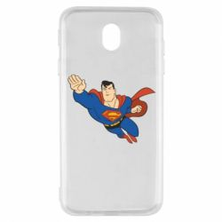 Чехол для Samsung J7 2017 Superman mult - FatLine
