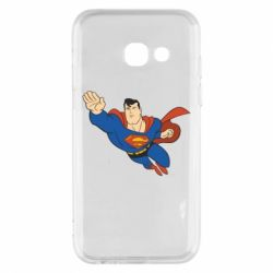 Чехол для Samsung A3 2017 Superman mult - FatLine