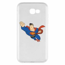 Чехол для Samsung A7 2017 Superman mult - FatLine