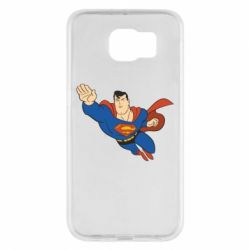 Чехол для Samsung S6 Superman mult - FatLine