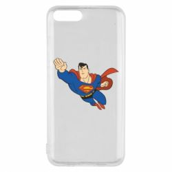 Чехол для Xiaomi Mi6 Superman mult - FatLine