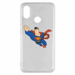 Чехол для Xiaomi Mi8 Superman mult - FatLine