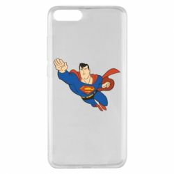 Чехол для Xiaomi Mi Note 3 Superman mult - FatLine