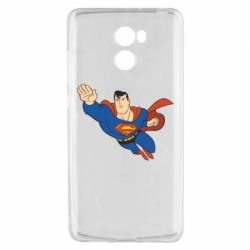 Чехол для Xiaomi Redmi 4 Superman mult - FatLine
