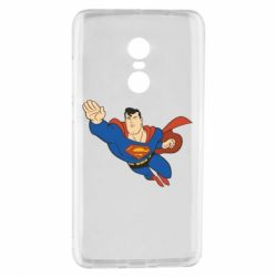 Чехол для Xiaomi Redmi Note 4 Superman mult - FatLine