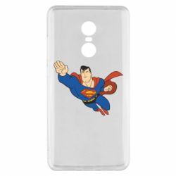 Чехол для Xiaomi Redmi Note 4x Superman mult - FatLine