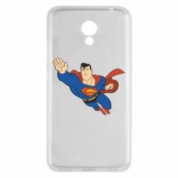 Чехол для Meizu M5c Superman mult - FatLine