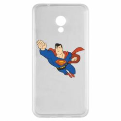 Чехол для Meizu M5s Superman mult - FatLine
