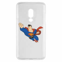 Чехол для Meizu 15 Superman mult - FatLine
