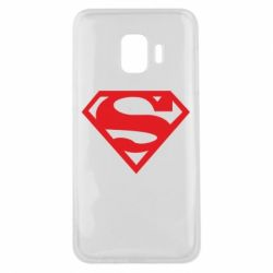 Чехол для Samsung J2 Core Superman одноцветный