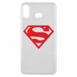 Чехол для Samsung A6s Superman одноцветный