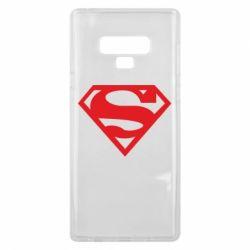 Чехол для Samsung Note 9 Superman одноцветный