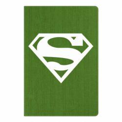 Блокнот А5 Superman одноцветный