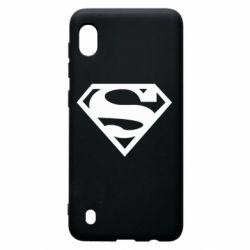 Чехол для Samsung A10 Superman одноцветный