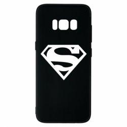 Чехол для Samsung S8 Superman одноцветный