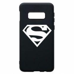 Чехол для Samsung S10e Superman одноцветный