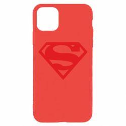 Чехол для iPhone 11 Pro Max Superman одноцветный