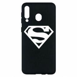 Чехол для Samsung M30 Superman одноцветный