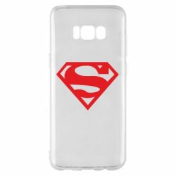 Чехол для Samsung S8+ Superman одноцветный