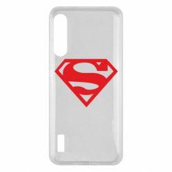 Чохол для Xiaomi Mi A3 Superman одноцветный