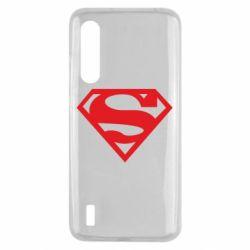 Чехол для Xiaomi Mi9 Lite Superman одноцветный