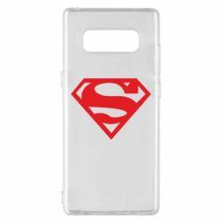 Чехол для Samsung Note 8 Superman одноцветный