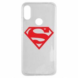 Чехол для Xiaomi Redmi Note 7 Superman од�