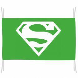 Флаг Superman одноцветный