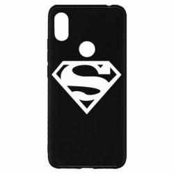 Чехол для Xiaomi Redmi S2 Superman одноцветный