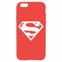 Чехол для iPhone 6/6S Superman одноцветный