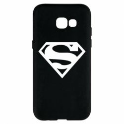Чехол для Samsung A5 2017 Superman одноцветный