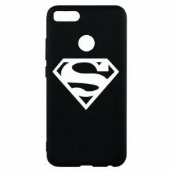Чехол для Xiaomi Mi A1 Superman одноцветный