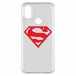 Чехол для Xiaomi Mi A2 Superman одноцветный