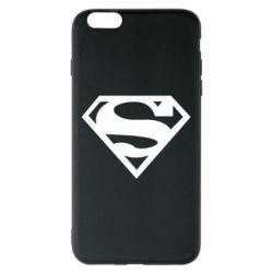 Чехол для iPhone 6 Plus/6S Plus Superman одноцветный