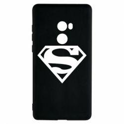 Чехол для Xiaomi Mi Mix 2 Superman одноцветный