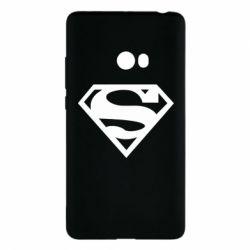 Чехол для Xiaomi Mi Note 2 Superman одноцветный