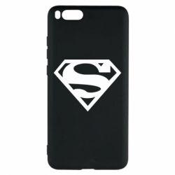 Чехол для Xiaomi Mi Note 3 Superman одноцветный