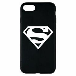 Чехол для iPhone 7 Superman одноцветный