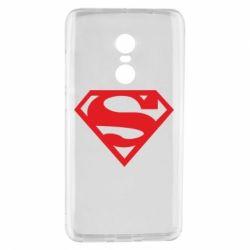 Чехол для Xiaomi Redmi Note 4 Superman одноцветный