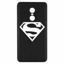 Чехол для Xiaomi Redmi Note 4x Superman одноцветный
