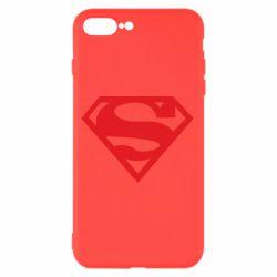 Чехол для iPhone 7 Plus Superman одноцветный