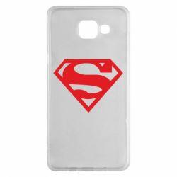 Чехол для Samsung A5 2016 Superman одноцветный