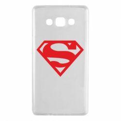 Чехол для Samsung A7 2015 Superman одноцветный