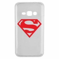 Чехол для Samsung J1 2016 Superman одноцветный