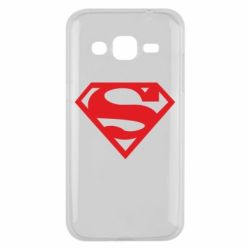 Чехол для Samsung J2 2015 Superman одноцветный